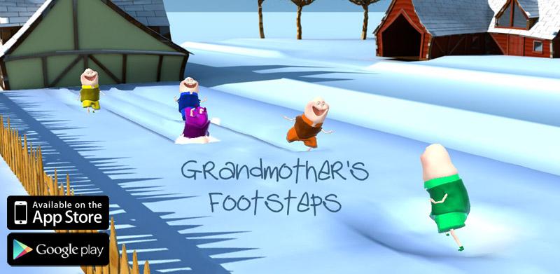 Grandmother's Footsteps Title